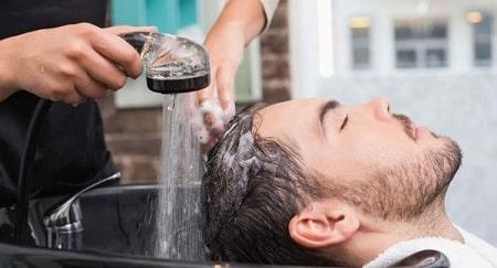 شستن مو بعد از کاشت